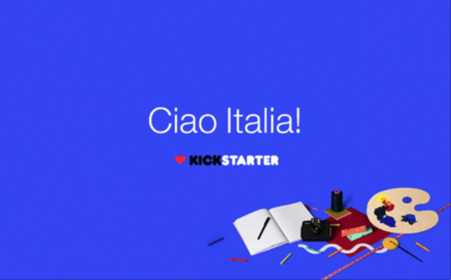 Kickstarter_ciao italia
